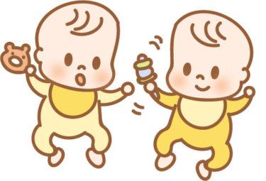 双子育児にベビーラックとベビーチェアを使ってみた|どっちが何台必要か?