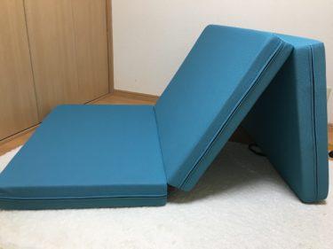 マニフレックスの三つ折りマットレス「メッシュ・ウィング」寝心地は?本当にへたらない?