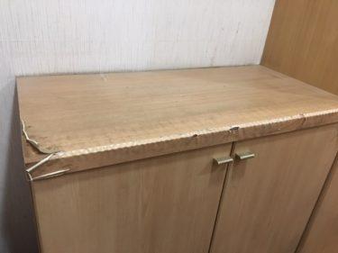【家具をリメイク】リメイクシートを使えば簡単!古い下駄箱が新品みたいに